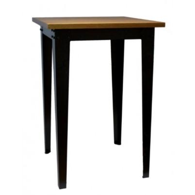 Mesa barra estilo industrial madera 76 109 mobiliari for Barra estilo industrial